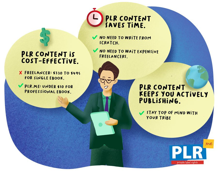 What are the Benefits of Using PLR Content?
