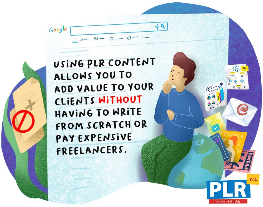 >What are the Drawbacks of Using PLR Content?
