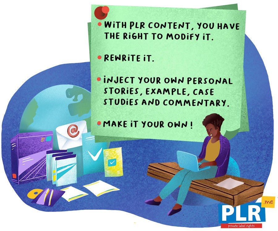 Is PLR Content the Same as Ghostwritten Content?