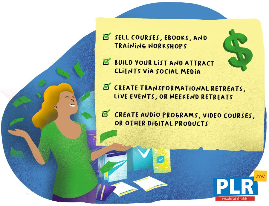 How Can You Make Money Using PLR Content?