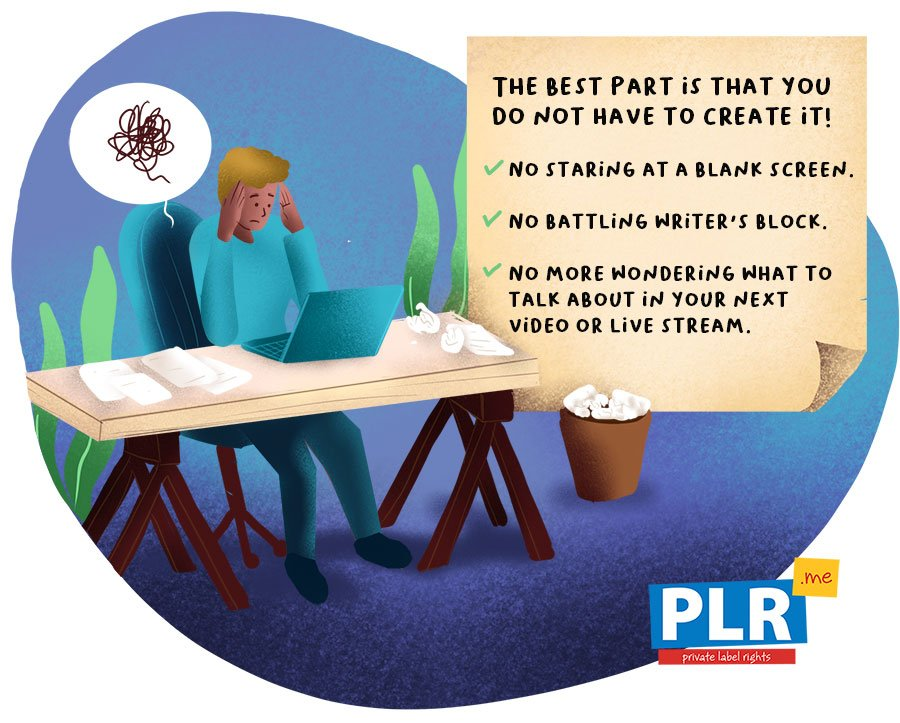 How Does PLR Content Work Online?