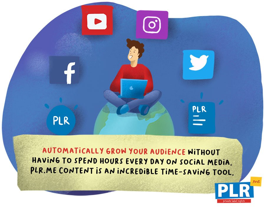 How Do You Use PLR To Create Blog Posts and Social Media Content?