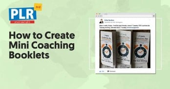 How to Create Mini Coaching Booklets