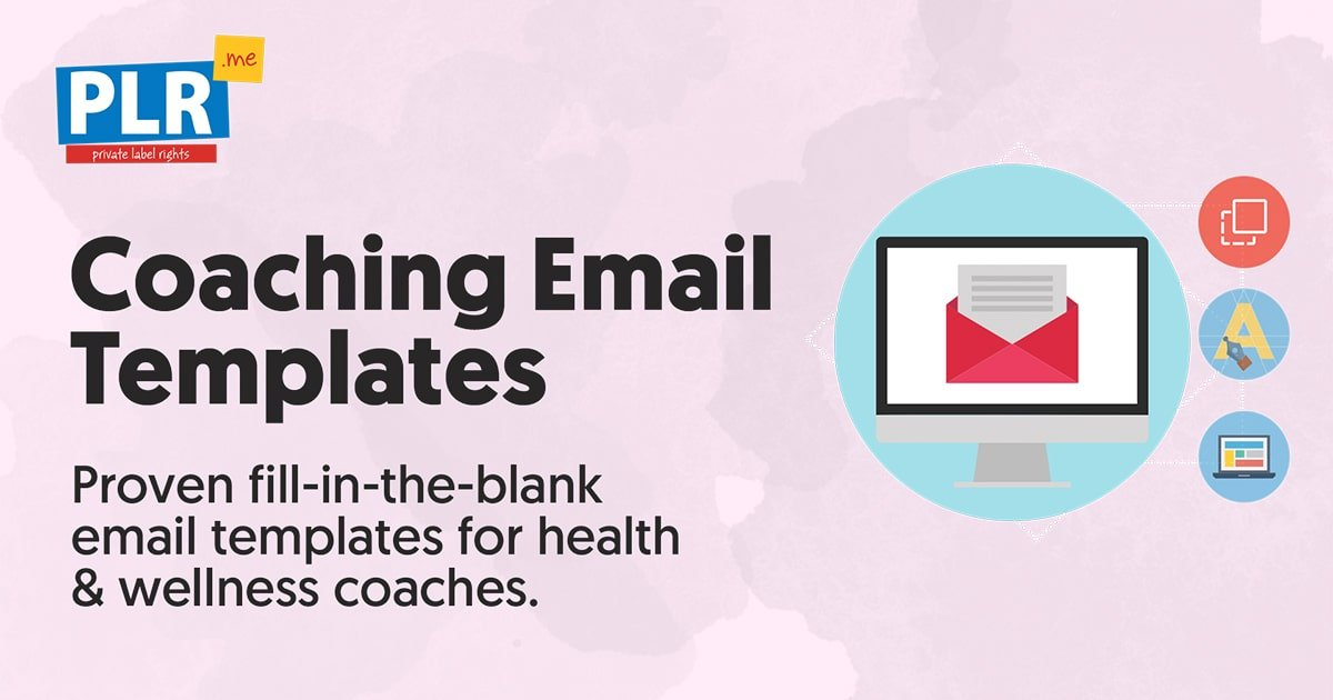 coaching email templates