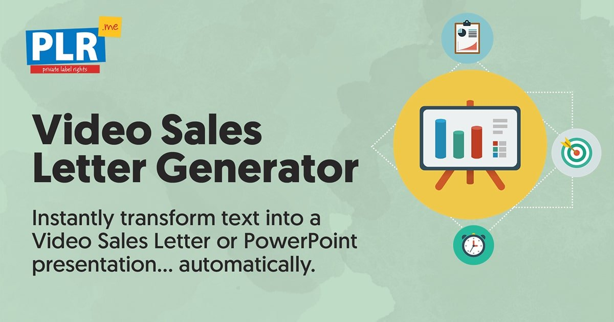 Video Sales Letter Generator From Text To Presentation