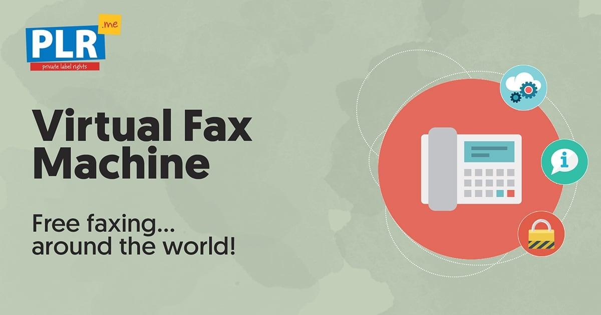 virtual fax machine free faxing