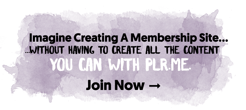 Imagine Creating A Membership Site Without Having to Create All The Content