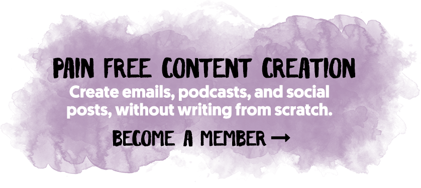 Pain Free Content Creation