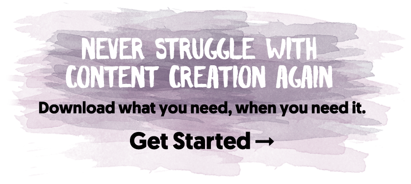 Never Struggle With Content Creation Again.