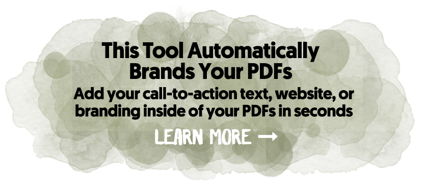 This Tool Automatically Brands Your PDFs