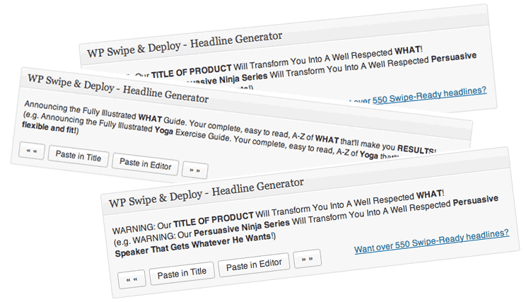 Over 550 fill-in-the-blank headline and title templates