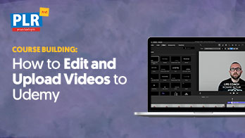 How to Edit and Upload a Video to Udemy