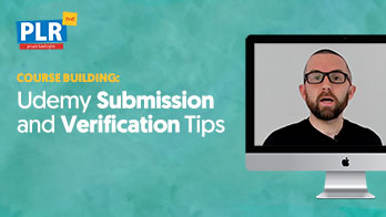 Udemy Submission and Verification Tips