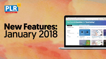 New Features: January 2018
